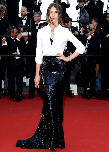 Jessica Miller in Dolce & Gabbana