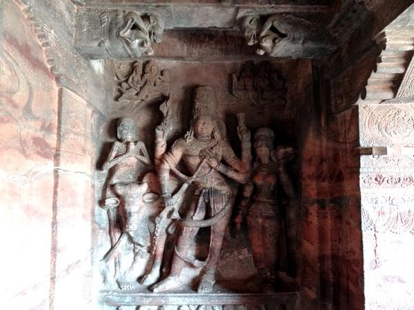Cave 1: Ardhanareeshwar