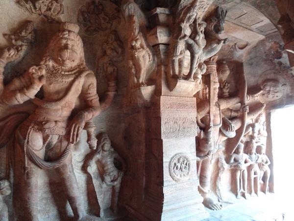 Cave 3: Narsimha and Vaman
