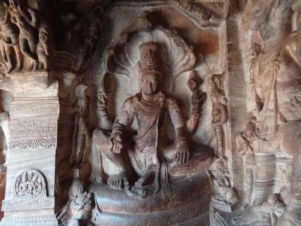 Cave 3: Lord Maha Vishnu