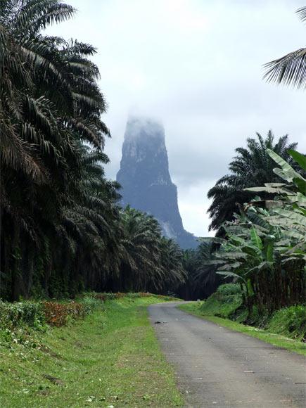 Pico Cao Grande, Sao Tome