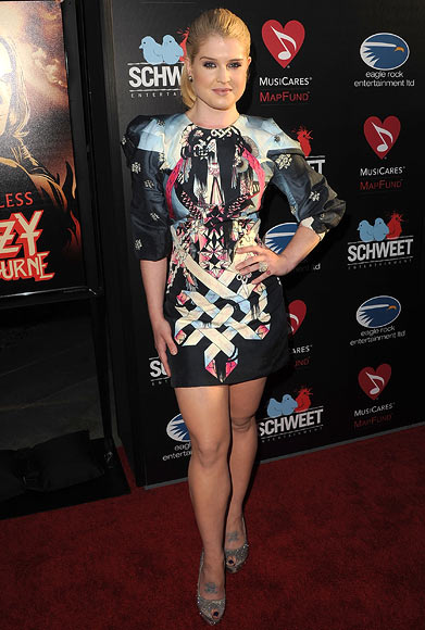 Kelly Osbourne in Manish Arora