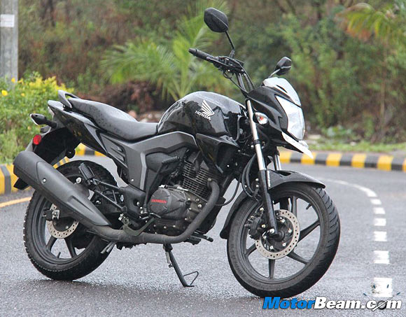 Honda's latest 150cc offering, the CB Trigger, comes with Combi Brake System
