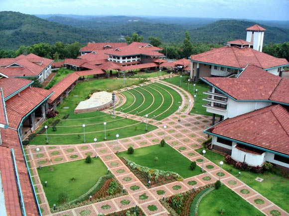 An aerial view of the Indian Institute of Technology, Guwahati