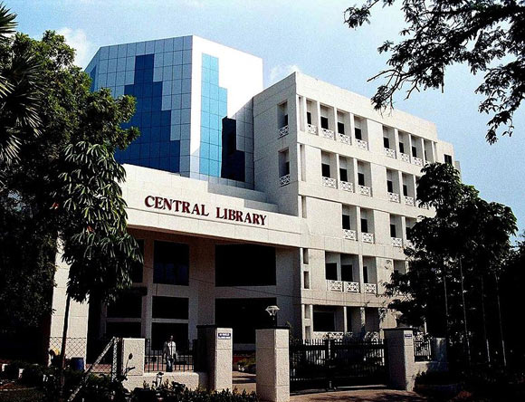 Central Library of the Indian Institute of Technology Madras