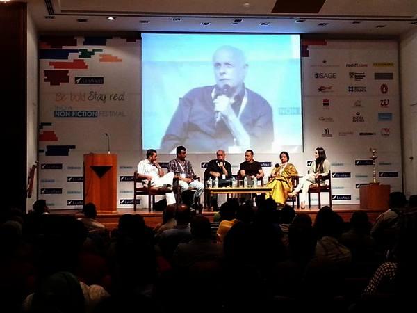 From left: MK Raghavendra, Sanjay Gadhvi, Mahesh Bhatt, Rahul Bose, Bhavna Somaiya and Minissha Lamba