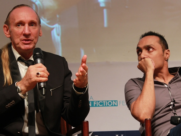Gregory David Roberts and Rahul Bose in conversation