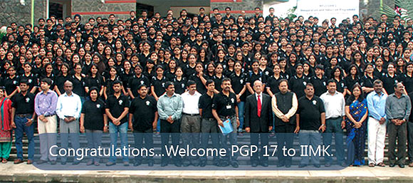 IIM-Kozhikode batch of 2013-15