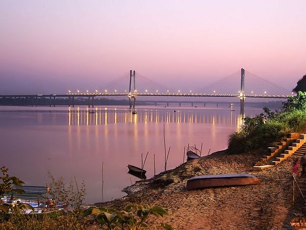 Allahabad was the seventh check point on Sabnis' route. Seen here is the bridge over the River Yamuna in Allahabad. (Picture used here for representational purposes only)