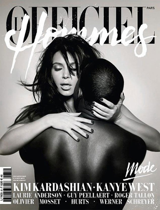Kim and Kanye get hot and heavy for French mag