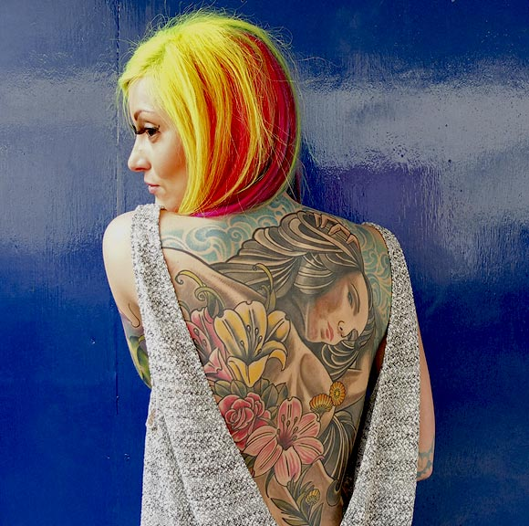PHOTOS: Women tattoos: Bigger, Bolder