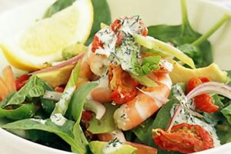 Prawn and Dill Salad