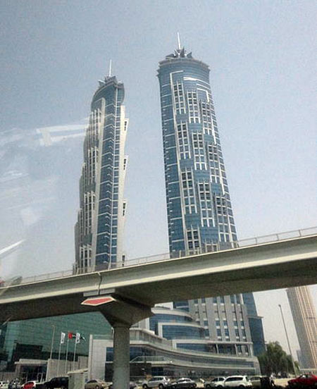 Marriott housed in JW Marriott Marquis Dubai, Dubai