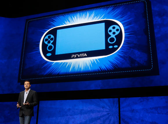 Irish video game developer David Perry speaks during the unveiling of the PlayStation 4 launch event in New York, February 20, 2013.