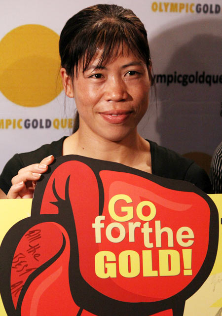 Olympic Bronze medallist MC Mary Kom
