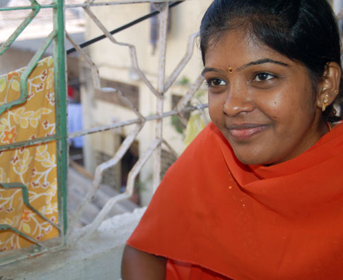 CA topper Prema Jayakumar at her residence in Mumbai