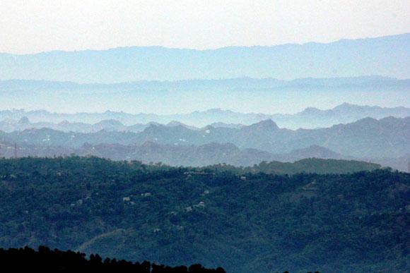 The hills at Bir
