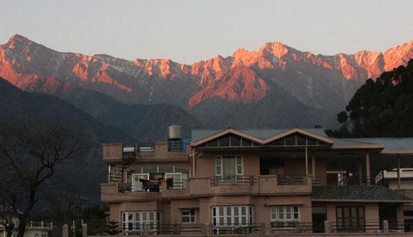 The majestic Dhauladhar Range