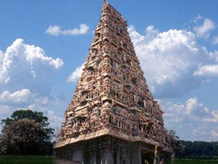 underwater temple india