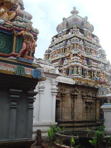 Munneswaram Temple in Munneswaram, Sri Lanka