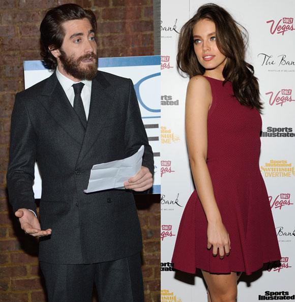 Jake Gyllenhaal and Emily DiDonato