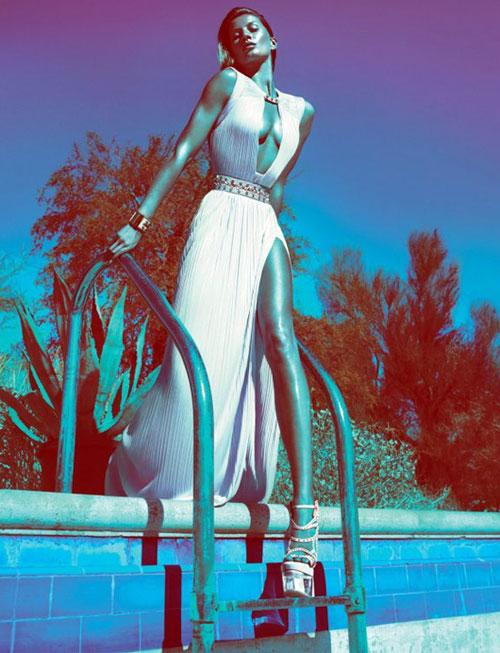 Gisele Bundchen for Versace Ad campaign