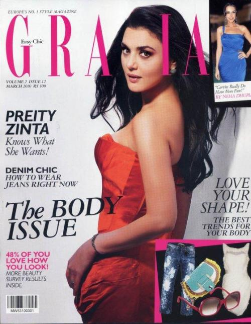 Cover of Grazia