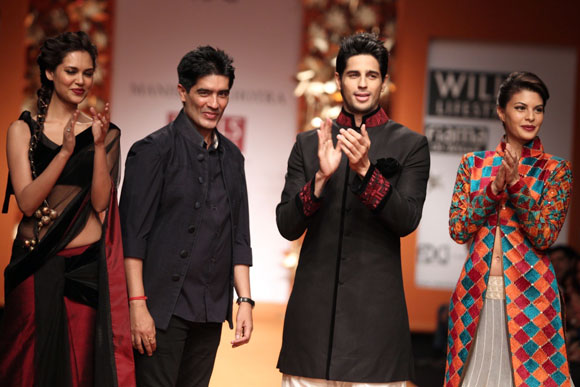 Manish Malhotra with his showstoppers