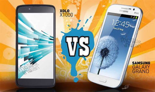 Xolo X1000 vs Samsung Galaxy Grand