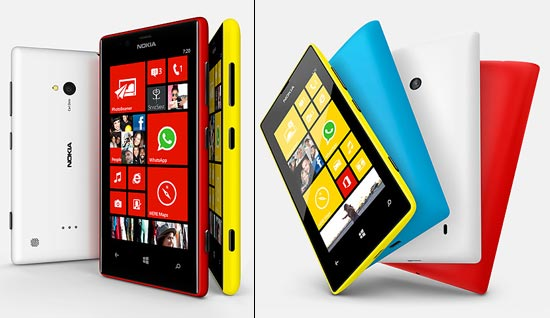 Nokia Lumia 720 and Lumia 520: First impressions