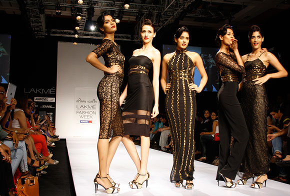 PICS: Red carpet glamour at LFW