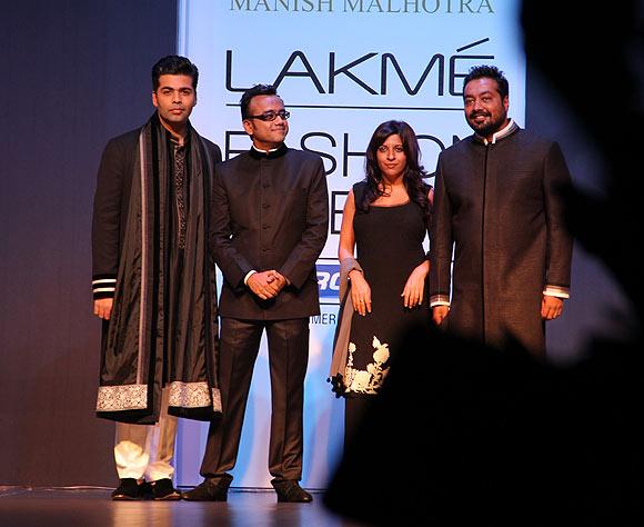 Karan Johar, Dibakar Banerjee, Zoya Akhtar and Anurag Kashyap