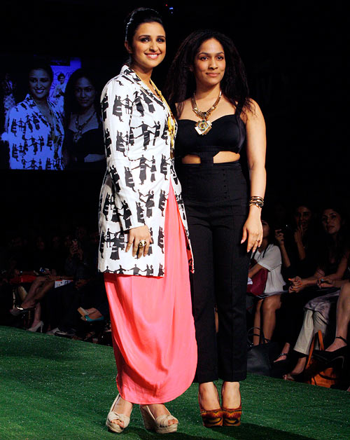 Masaba Gupta with Parineeti Chopra