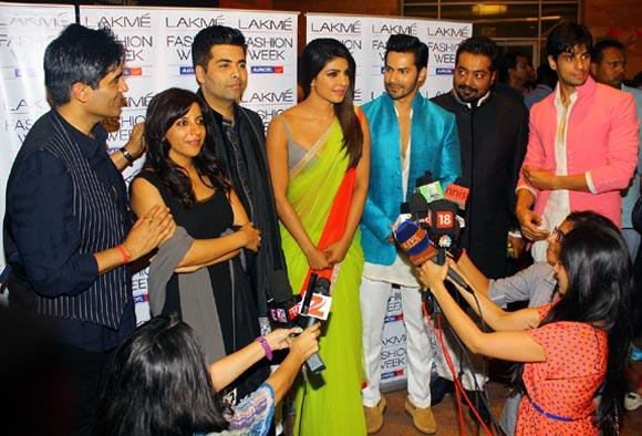 SPOTTED: Shruti Hassan, Hema, Kajol at Fashion Week