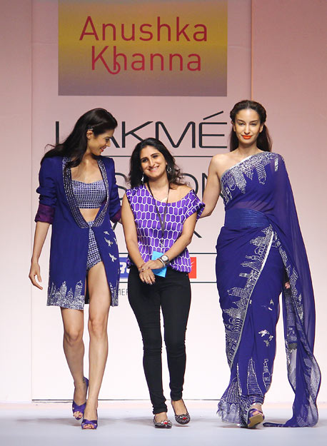 Anushka Khanna walks the ramp with her leading ladies