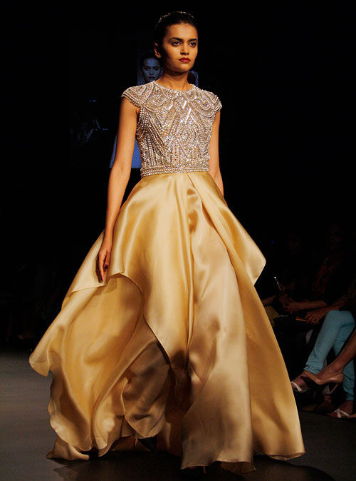 PICS: Designer Naeem Khan's first show in India