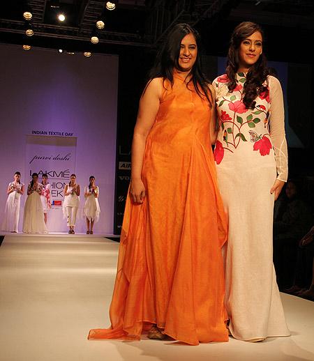 Purvi Doshi with Hazel Keech