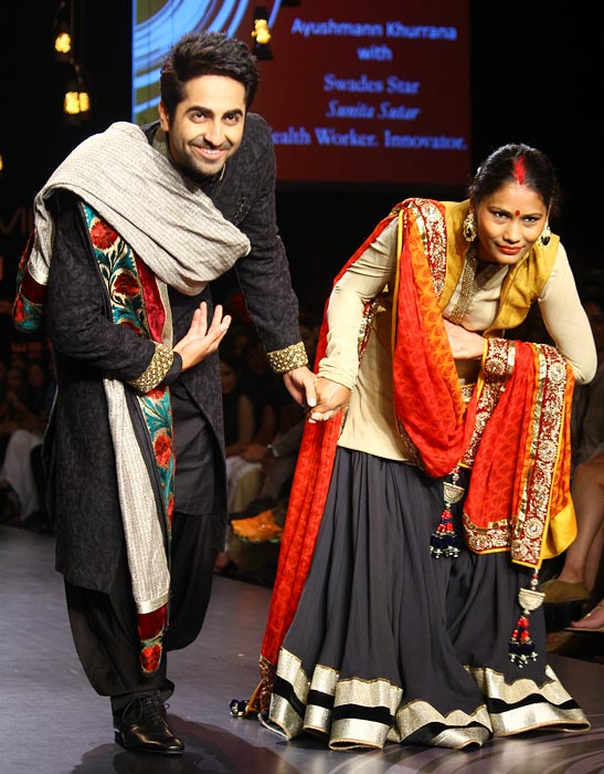 Ayushman with Sunita Sutar
