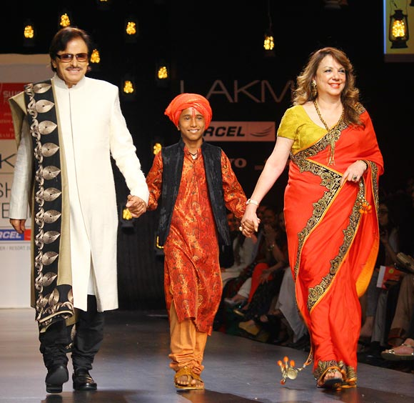 Sanjay, Pavan Mahadik and Zarine Khan
