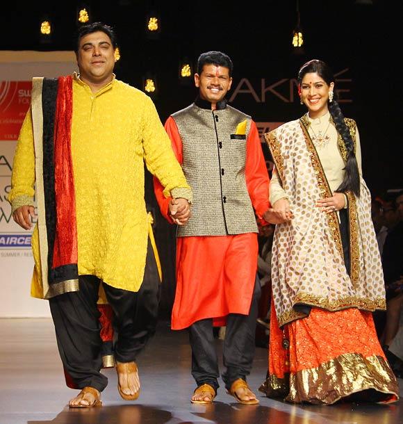 Ram Kapoor, Jayram Sutar and Sakshi Tanwar