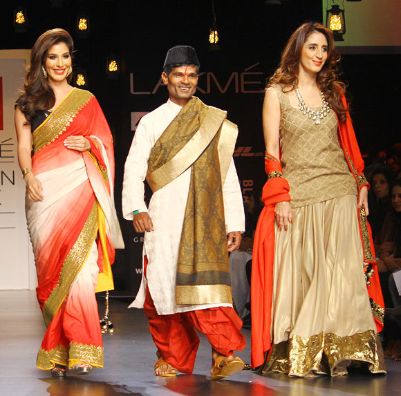 Sophie Choudry, Baburao and Farah Khan Ali