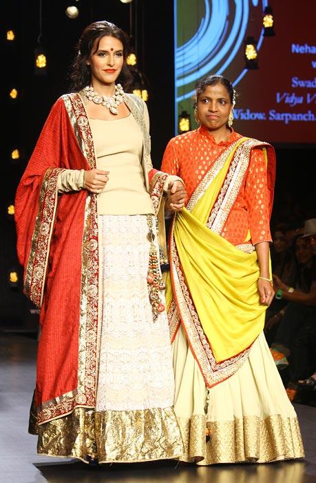 Neha Dhupia with Vidya Kule