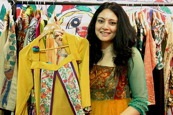 Fashion designer Agnimitra Paul