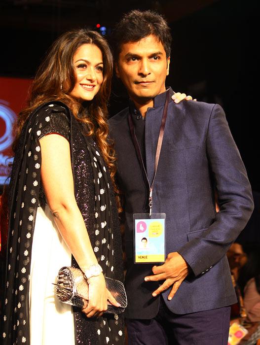 Amrita Arora with Vikram Phadnis