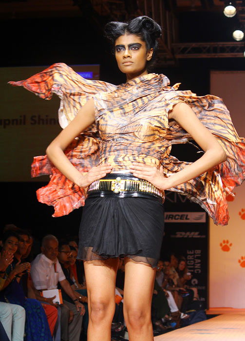 Archana Kumar walks for Swapnil Shinde
