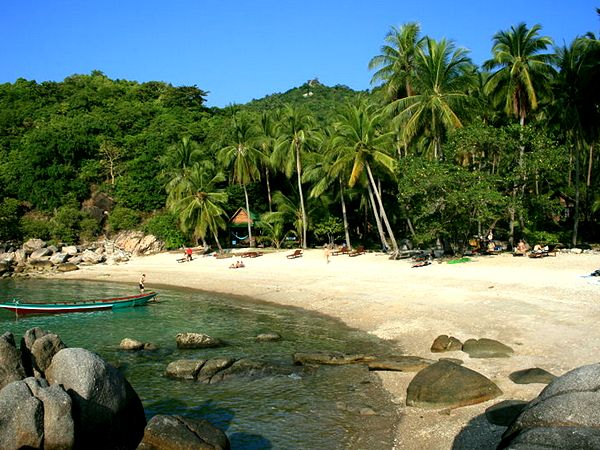 Sai Nuan Beach in Koh Tao