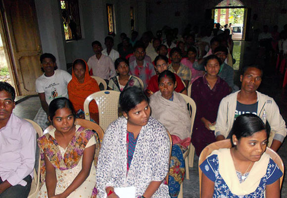 A training programme in Orissa