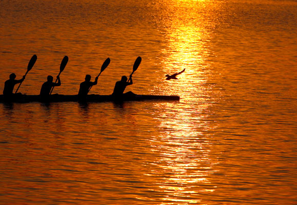 PICS: The quiet splendour of India's holiest river