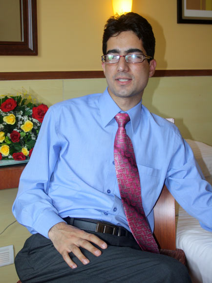 Dr Shah Faesal, the first UPSC topper from the state of Jammu & Kashmir