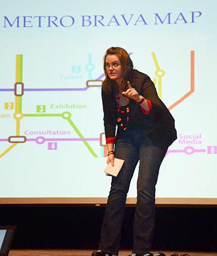 MetroBrava founder Rubia Braun
